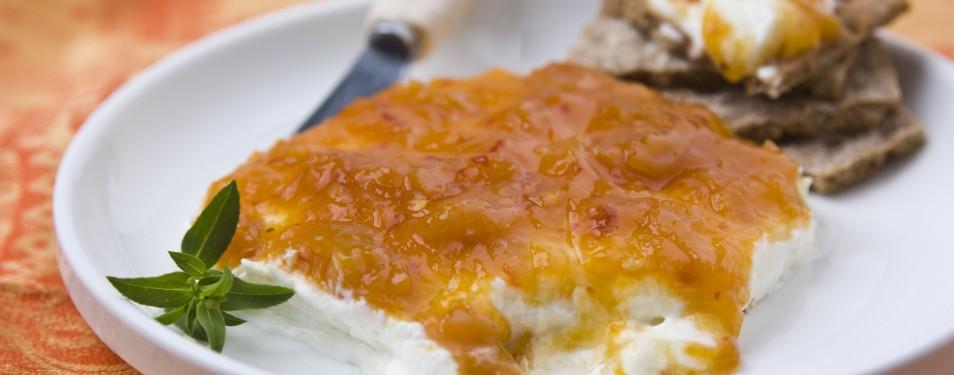 Goat Cheese & Apricot Torta